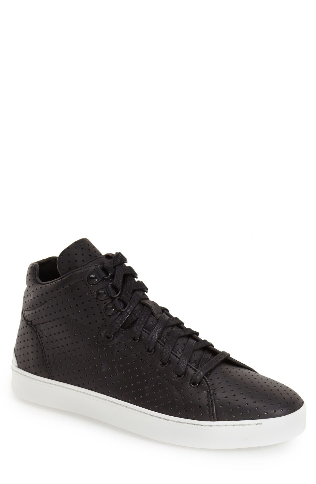 ,                             'Kent' Leather High Top Sneaker,                             Main thumbnail 5, color,                             009