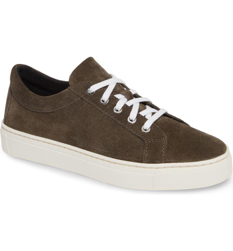 THE FLEXX Sneak Away Sneaker, Main, color, FANGO SUEDE
