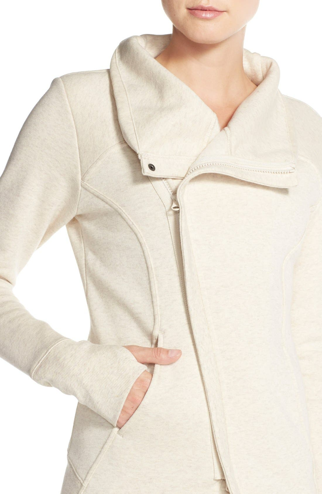 ,                             'Snowdrift' Asymmetrical Zip Sweatshirt,                             Alternate thumbnail 16, color,                             250
