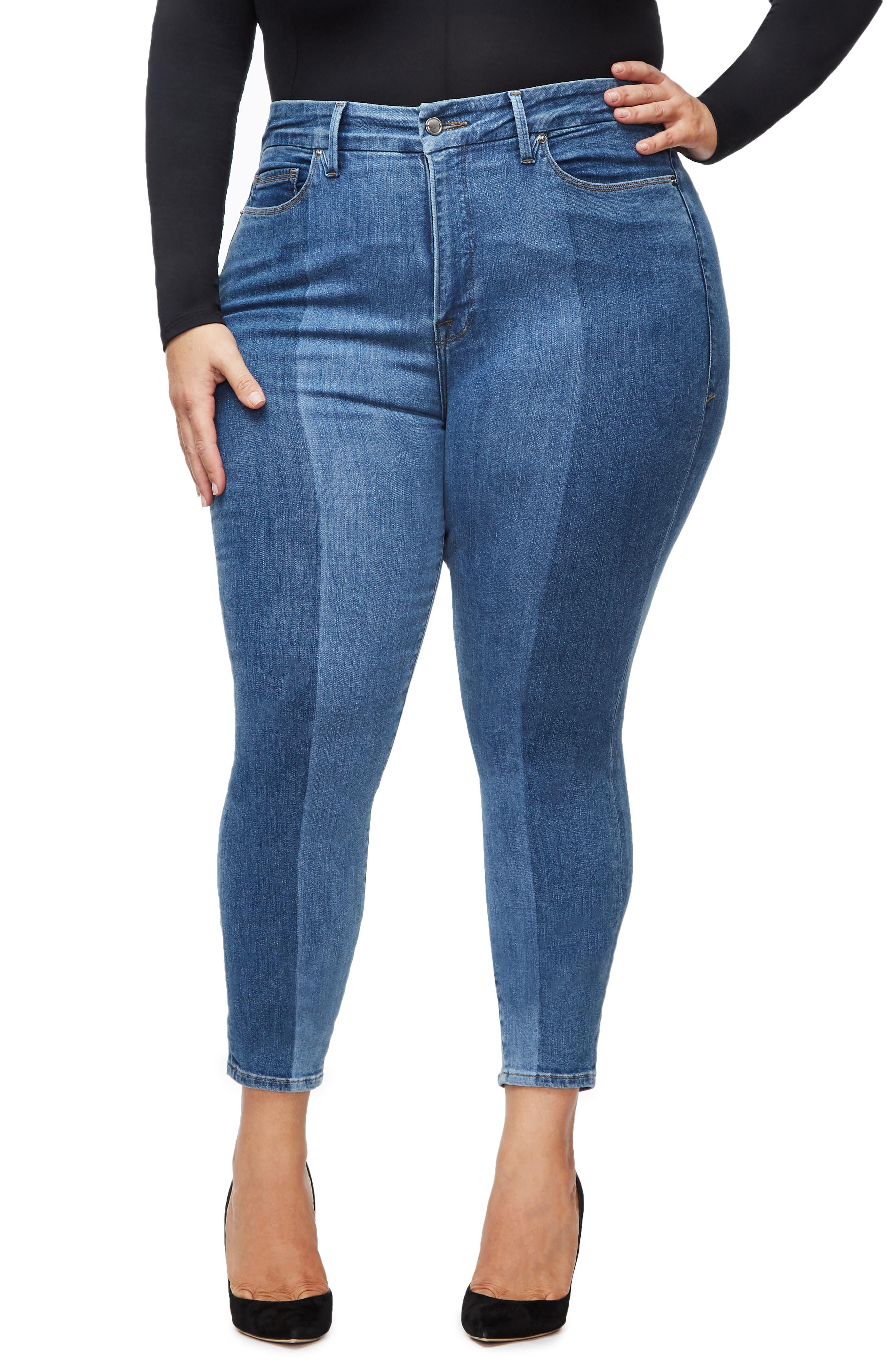 ,                             Good Legs Ankle Skinny Jeans,                             Alternate thumbnail 17, color,                             403