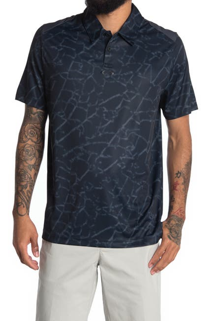 Image of Oakley Broken Glass Polo