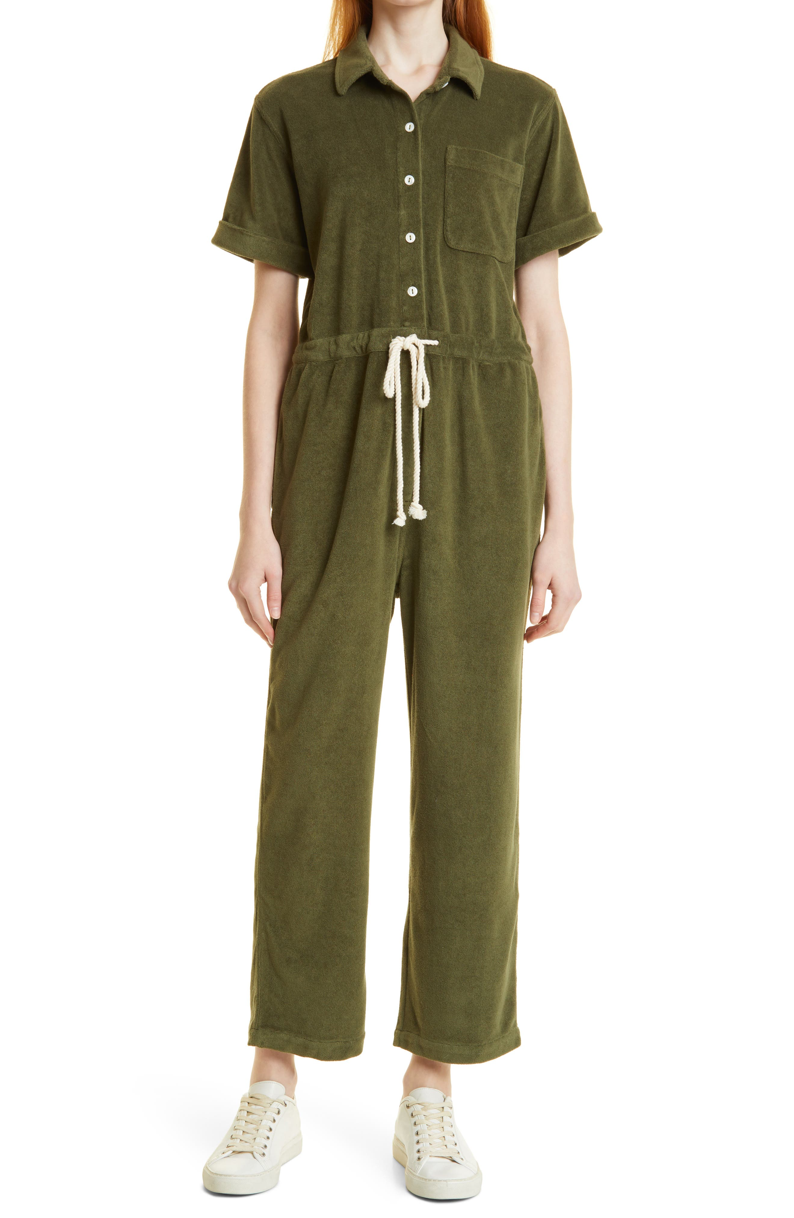 Benny Terry Cloth Jumpsuit