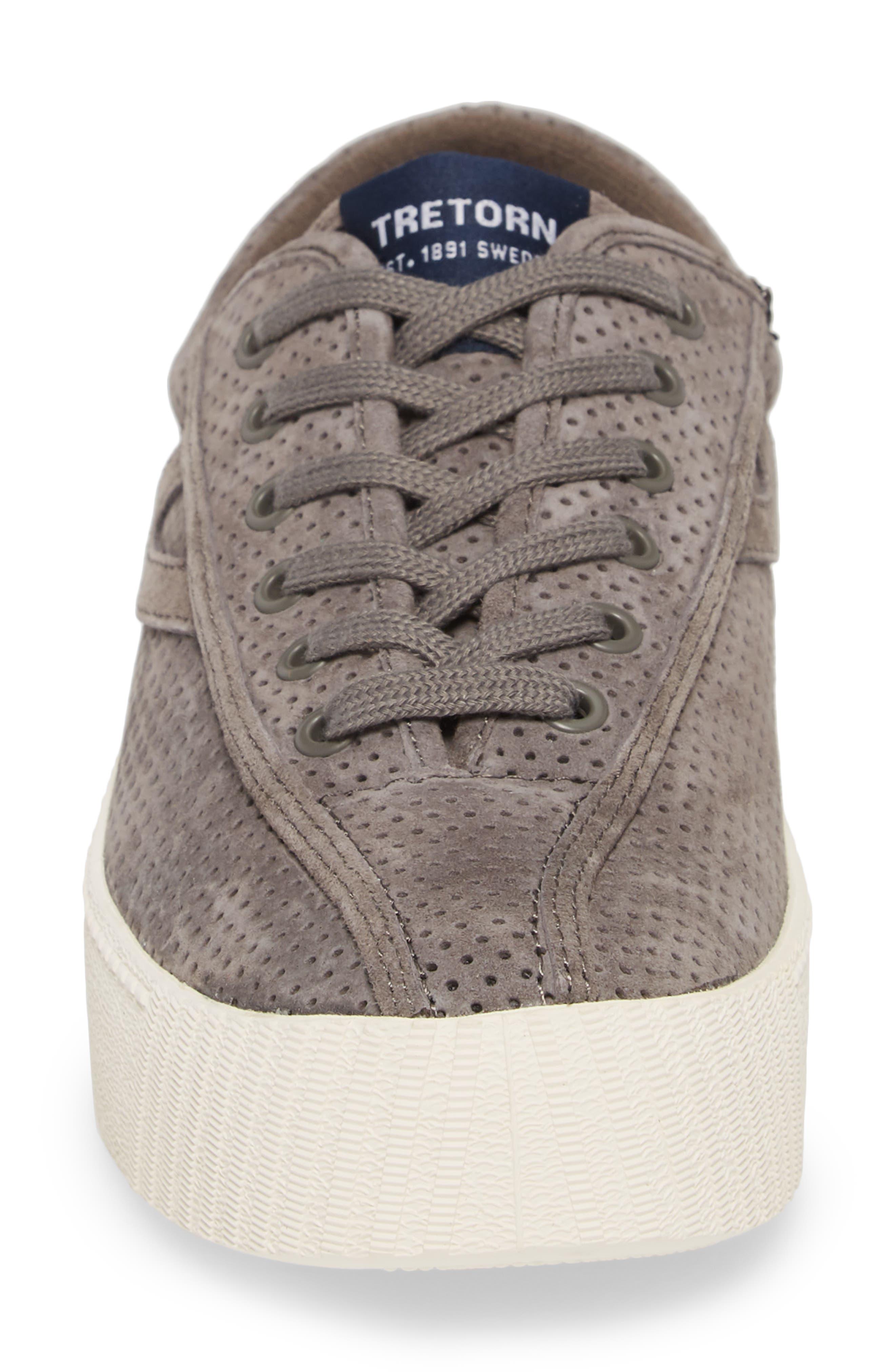 ,                             Bold Perforated Platform Sneaker,                             Alternate thumbnail 4, color,                             GRAPHITE/ GRAPHITE