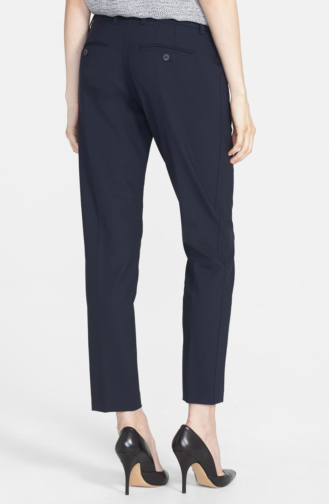 ,                             'Strapping' Stretch Wool Trousers,                             Alternate thumbnail 10, color,                             403