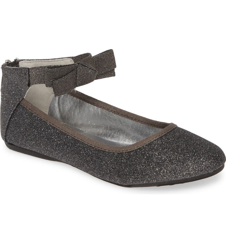 KENNETH COLE NEW YORK Rose Bow Flat, Main, color, PEWTER