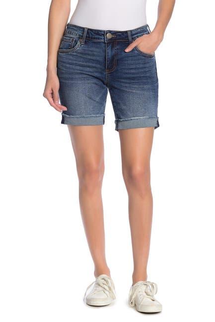 Image of KUT from the Kloth Katy Boyfriend Shorts