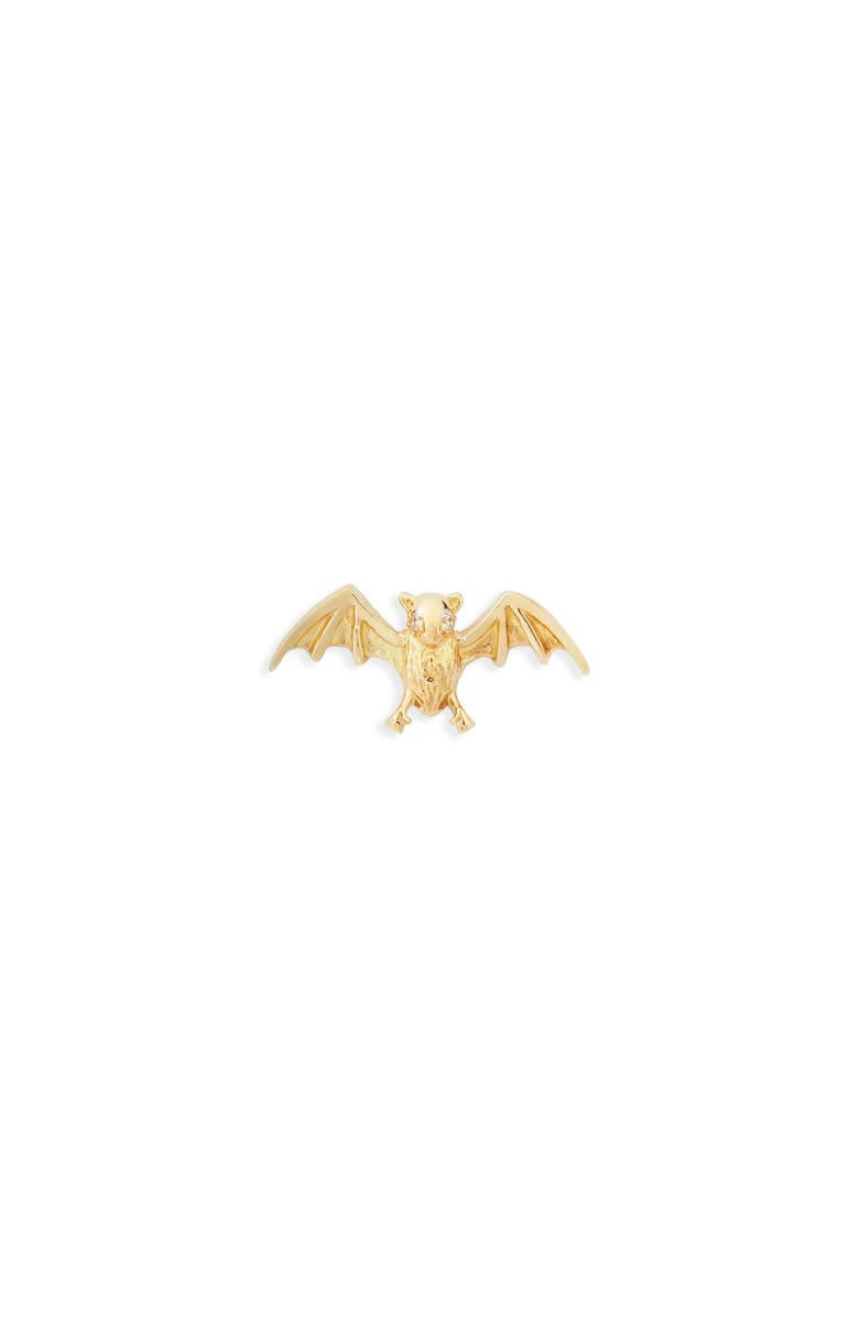 MARIA TASH Large Bat with Diamond Eyes Stud Earring, Main, color, 710