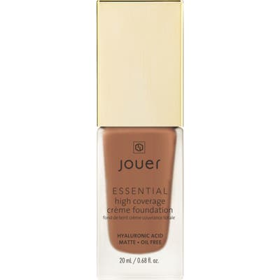 Jouer Essential High Coverage Creme Foundation - Mahogany