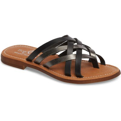 Bos. & Co. Inola Slide Sandal - Black