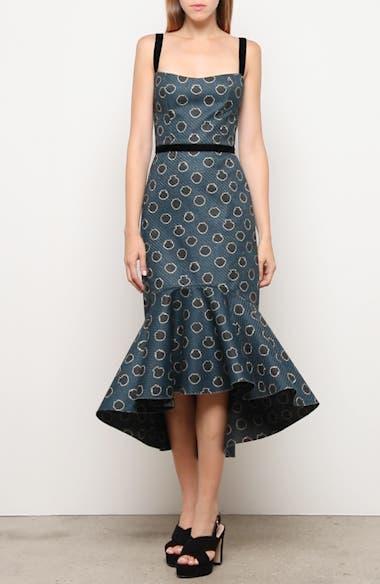 Ruffle Hem Midi Dress, video thumbnail