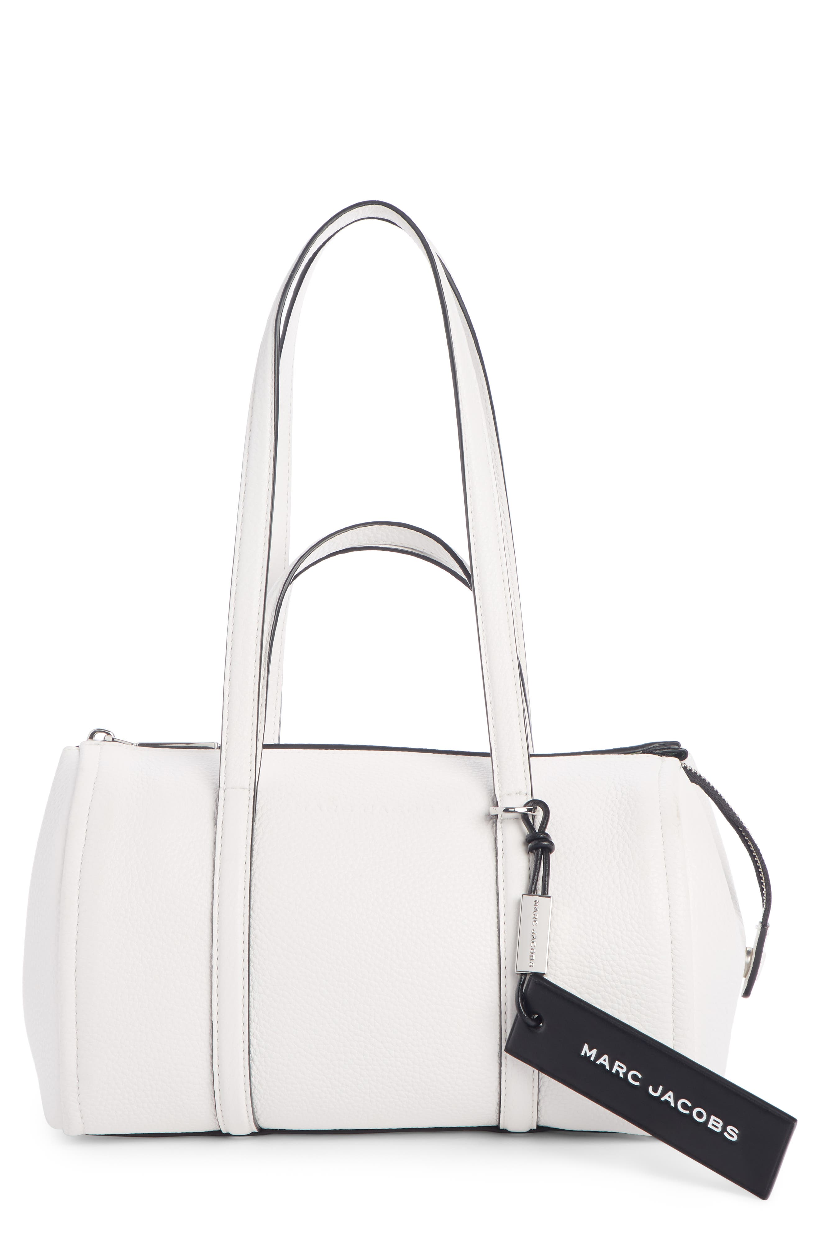 Image of THE MARC JACOBS The Tag 26 Bauletto Leather Bag