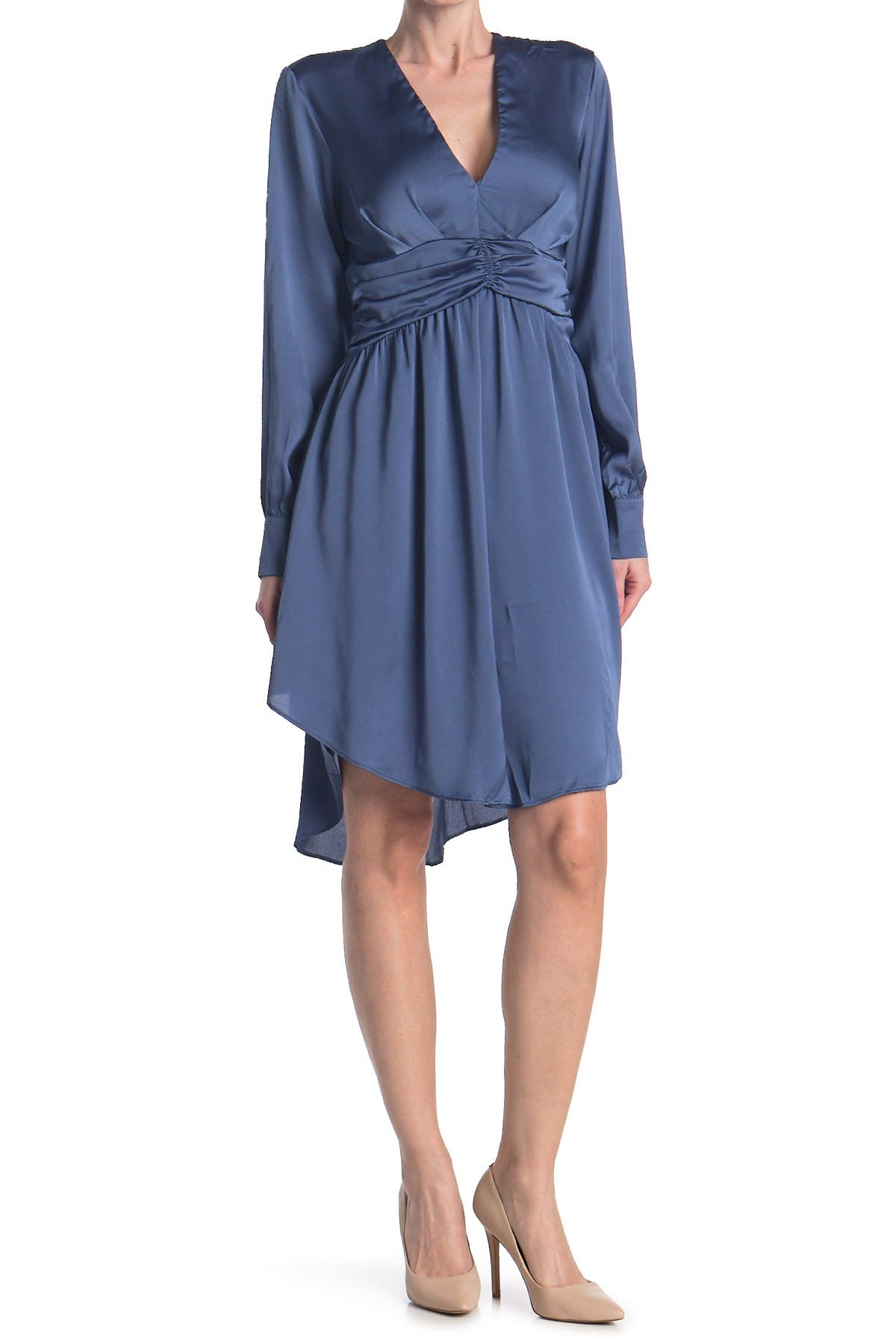 Image of Do + Be Bow Front High/Low Dress