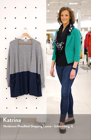 Ryder Colorblock Cardigan Sweater, sales video thumbnail
