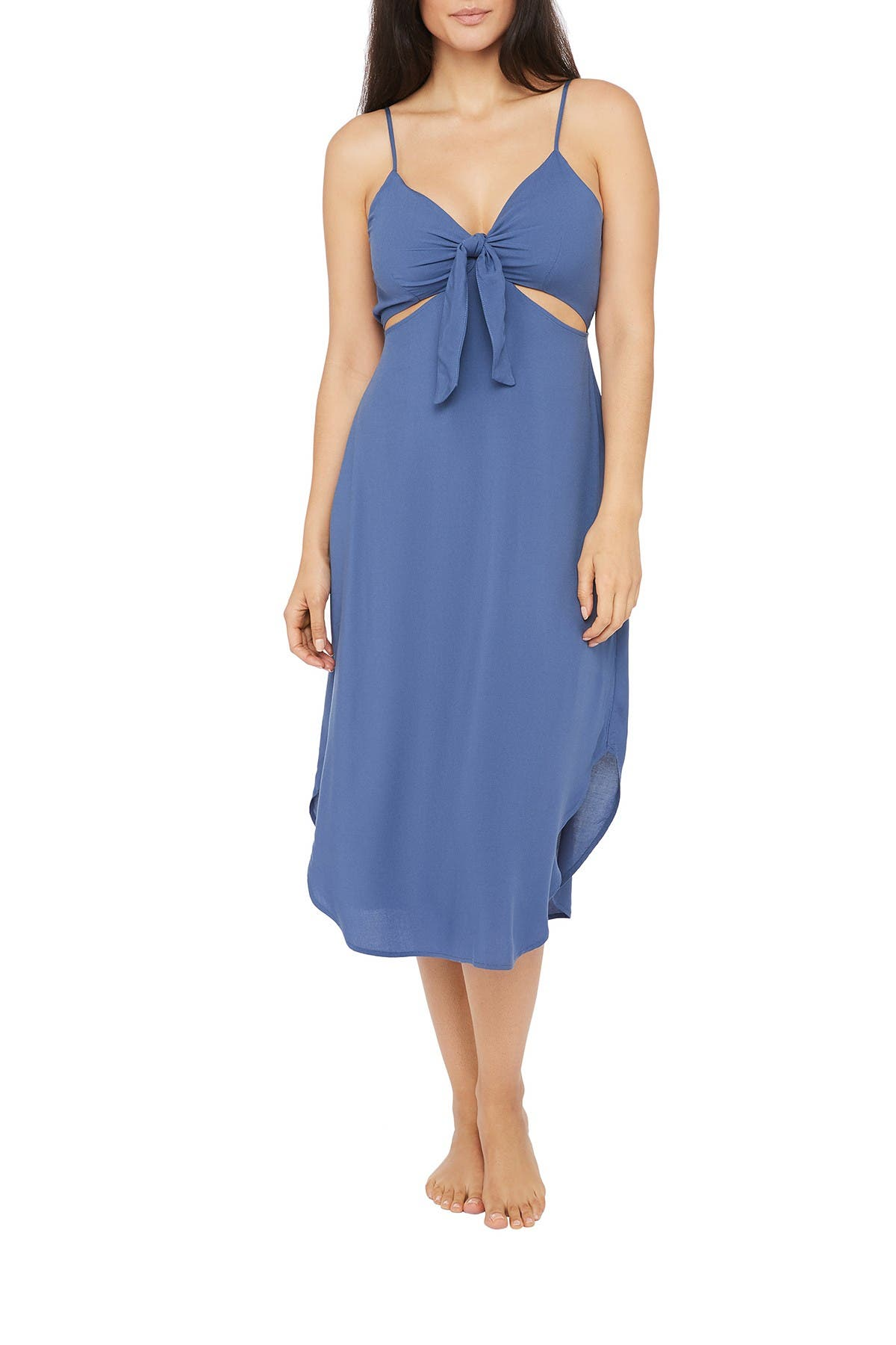 Image of La Blanca Swimwear Front Tie Cover Up Dress