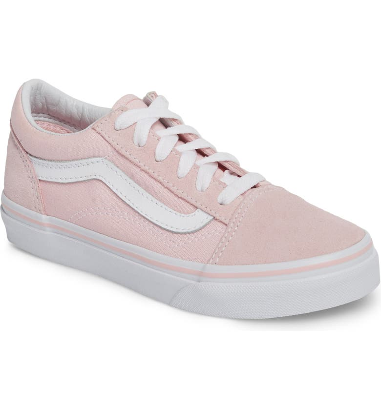 VANS Old Skool Sneaker, Main, color, CHALK PINK/ TRUE WHITE