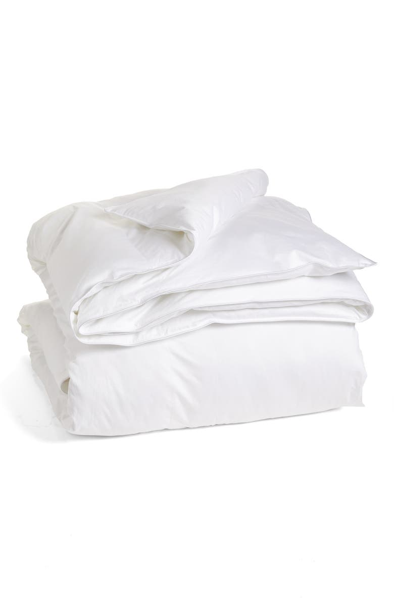 NORDSTROM 400 Thread Count PrimaLoft<sup>®</sup> Down Alternative Comforter, Main, color, WHITE