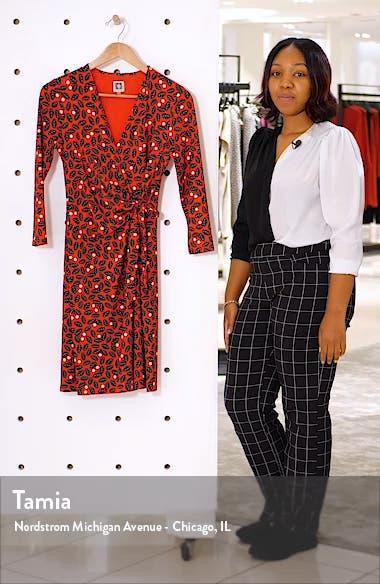 Muir Woods Faux Wrap Dress, sales video thumbnail
