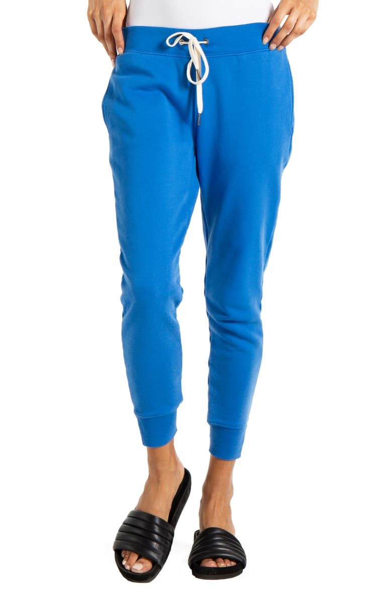 N:PHILANTHROPY Corner Jogger Pants, Main, color, PALACE BLUE
