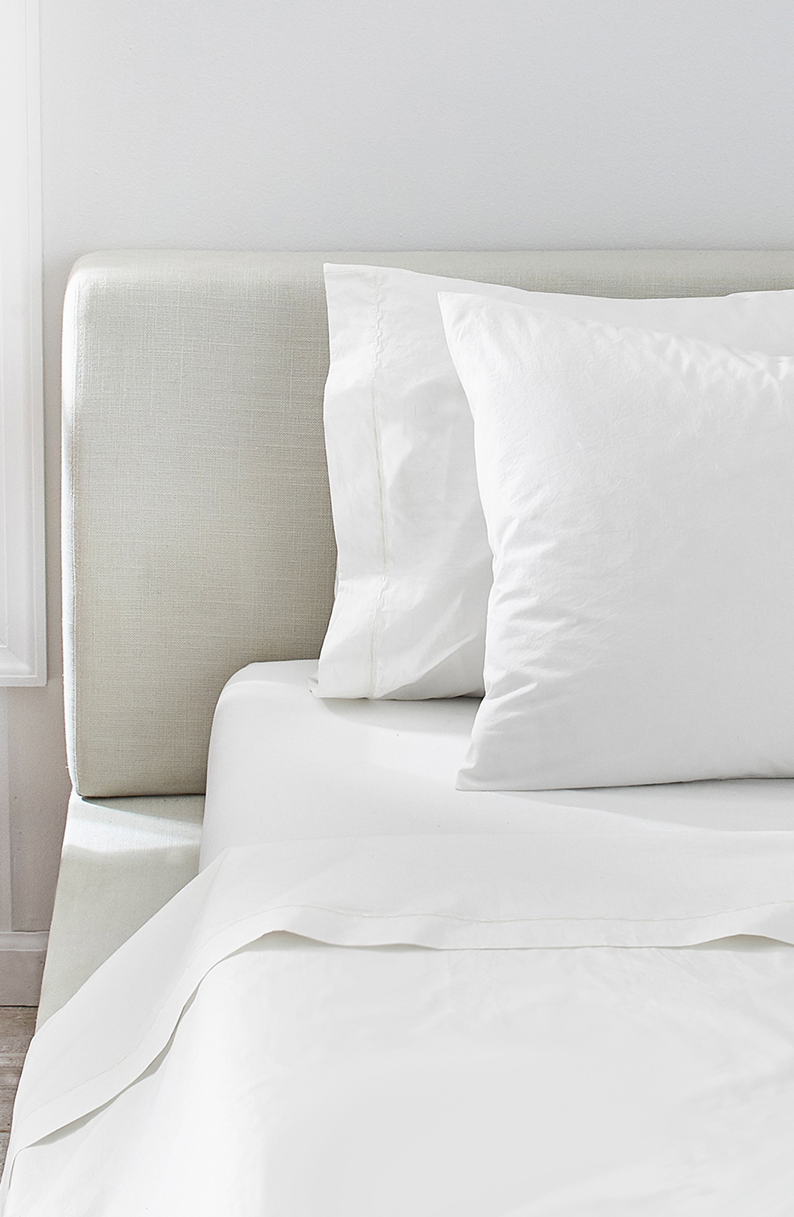 ,                             Cotton Percale Sheet Set,                             Alternate thumbnail 9, color,                             100