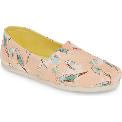 Toms Classic Canvas Slip-On B - Coral
