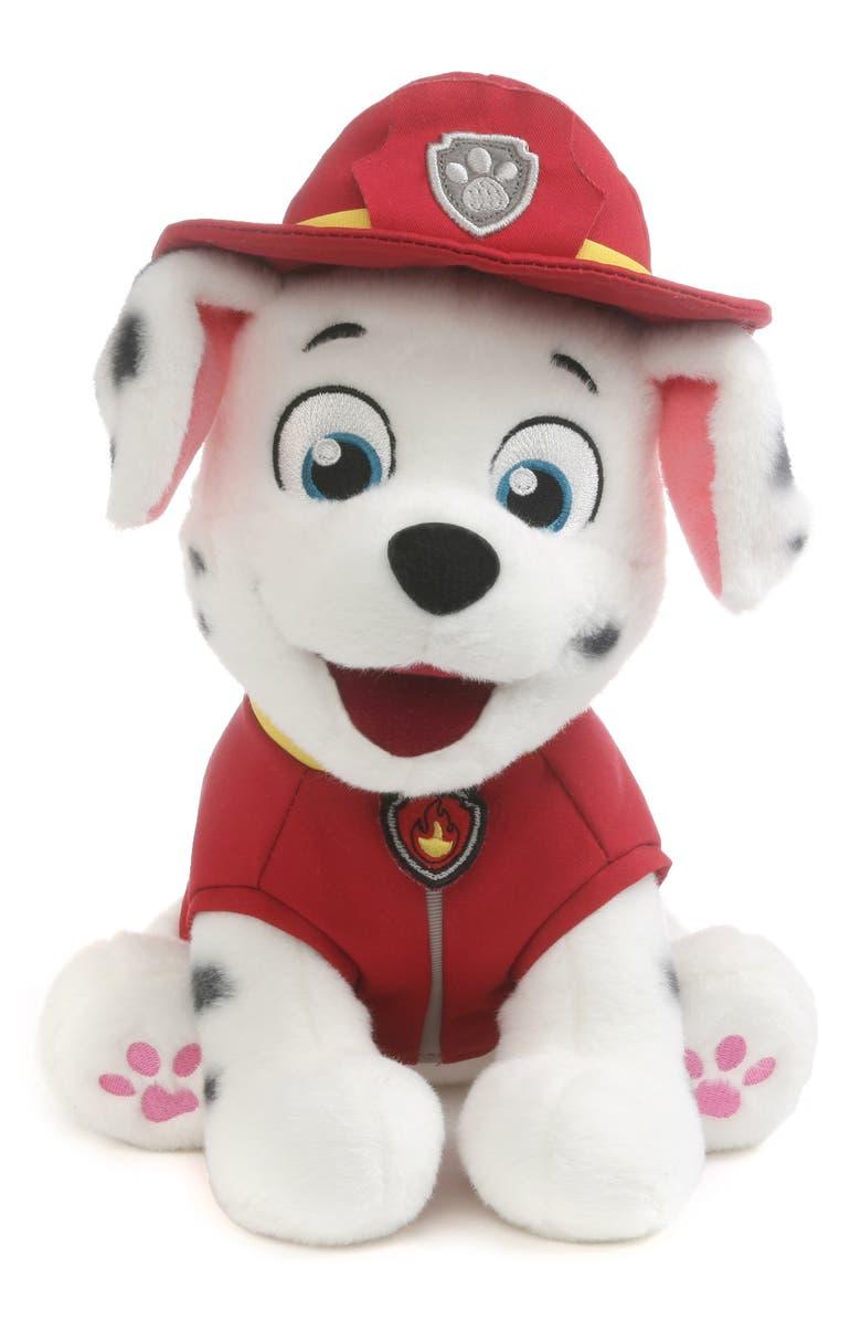 GUND PAW Patrol Marshall Stuffed Animal, Main, color, RED