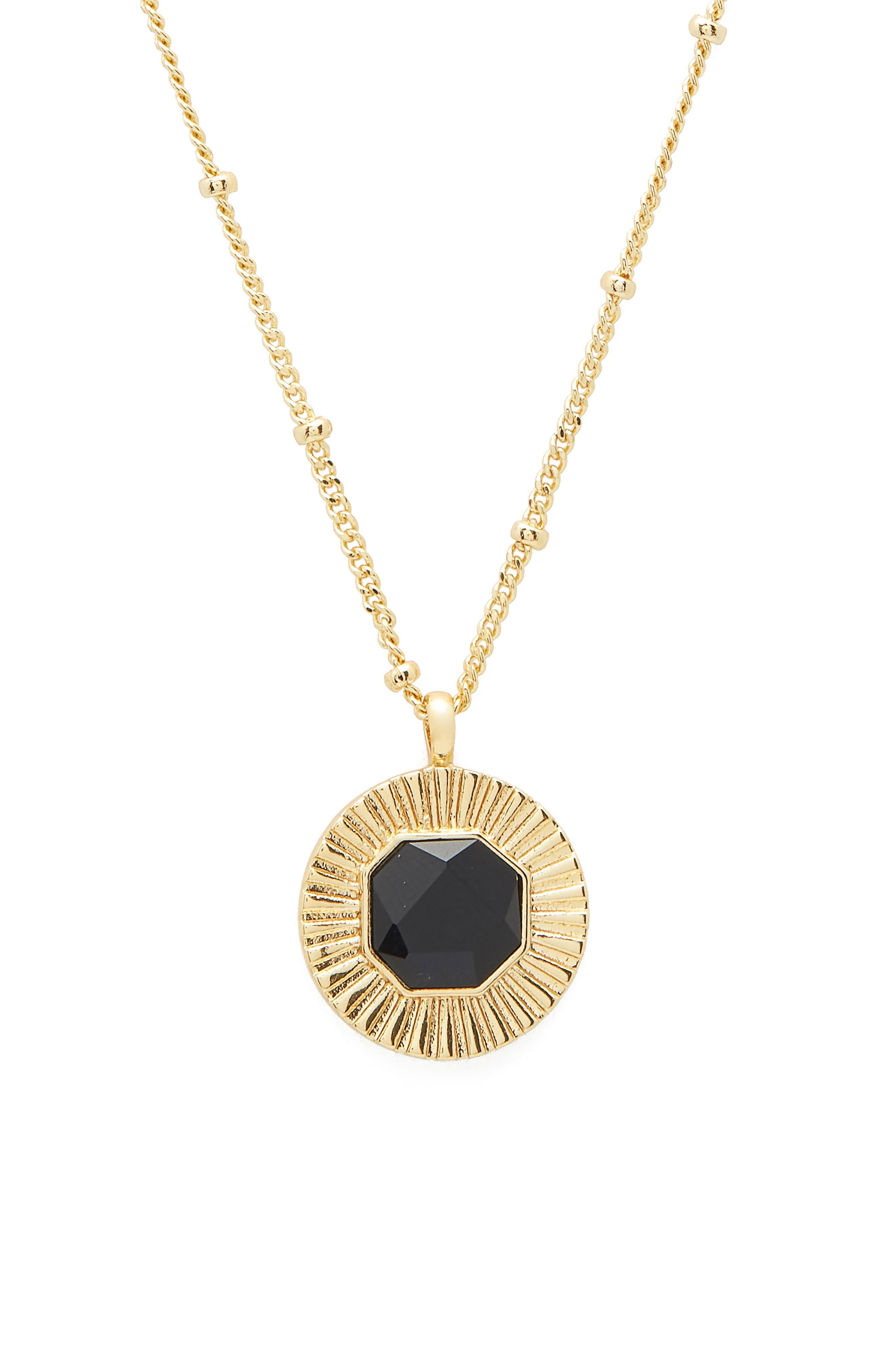 Power Gemstone Pendant Necklace