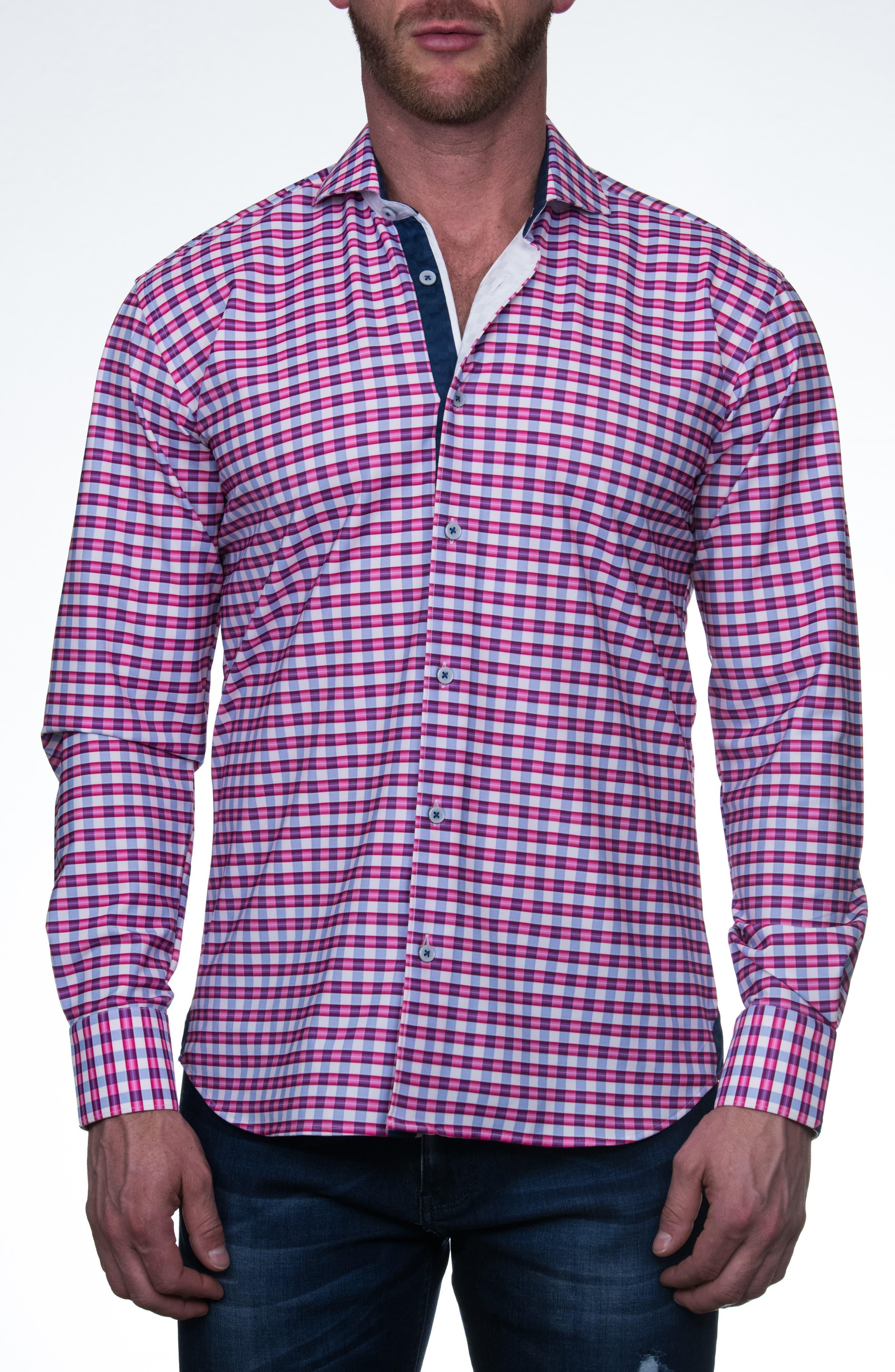 Wall Street Performance Button-Up Shirt
