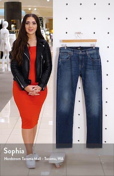Byron Straight Leg Stretch Jeans, sales video thumbnail