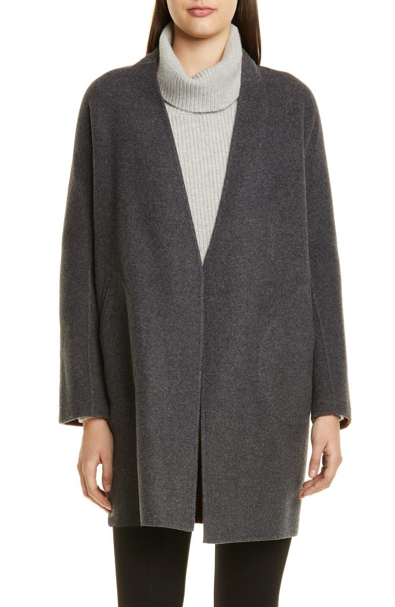 RAG & BONE Singer Reversible Wool Blend Coat, Main, color, 020