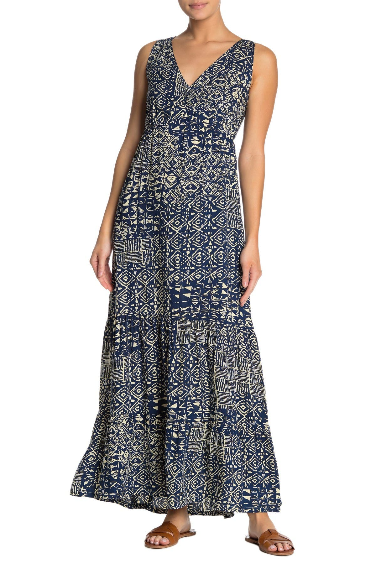 Image of Papillon Printed Maxi Dress