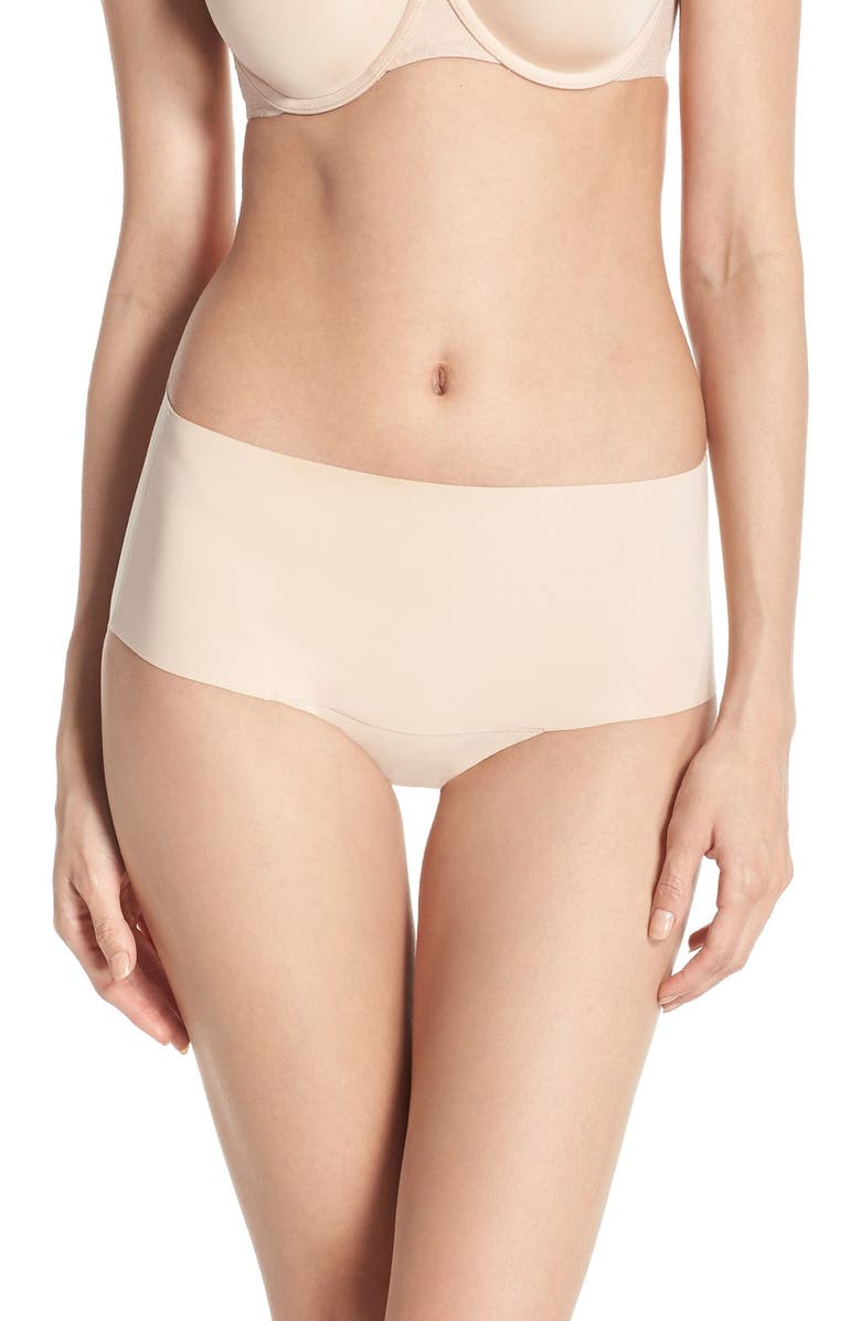 SPANX<SUP>®</SUP> Undie-tectable Briefs, Main, color, SOFT NUDE
