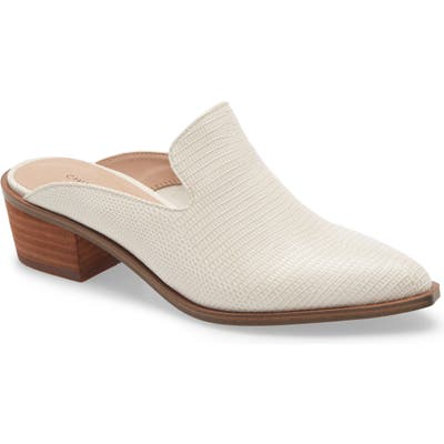 Chinese Laundry Marnie Loafer Mule- Ivory