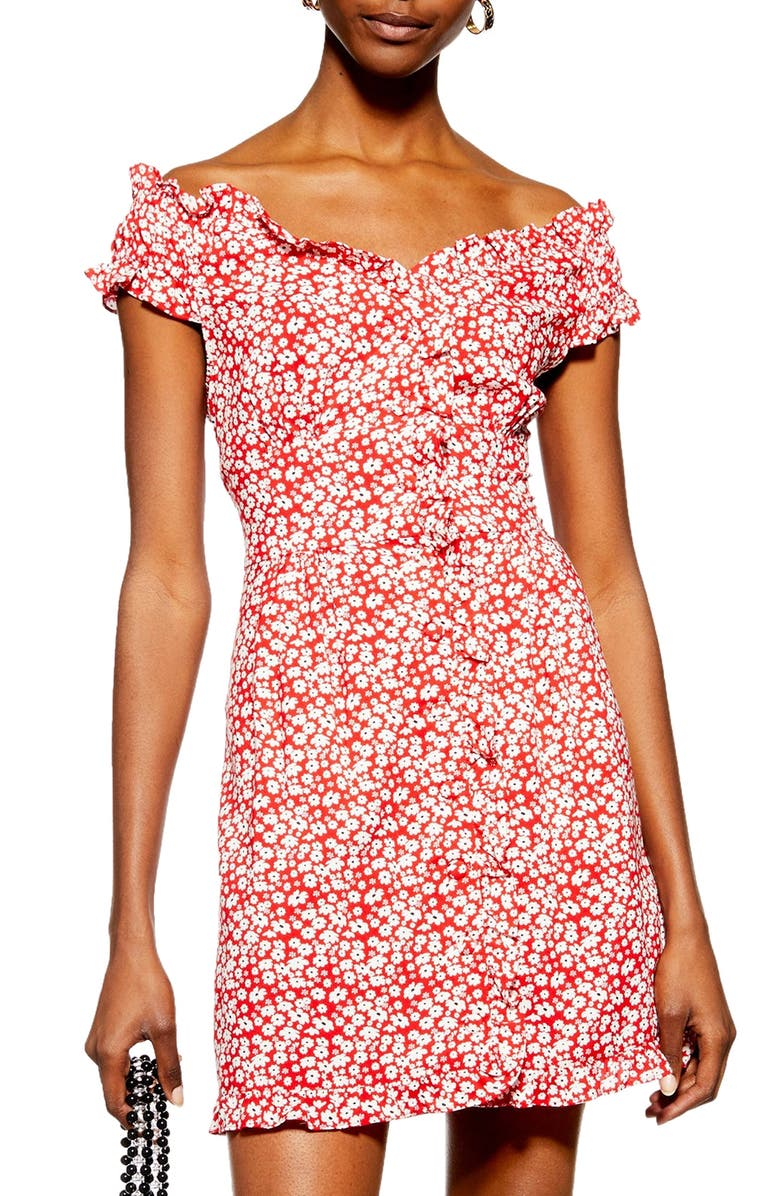 famous brand best service best choice Ditsy Floral Minidress