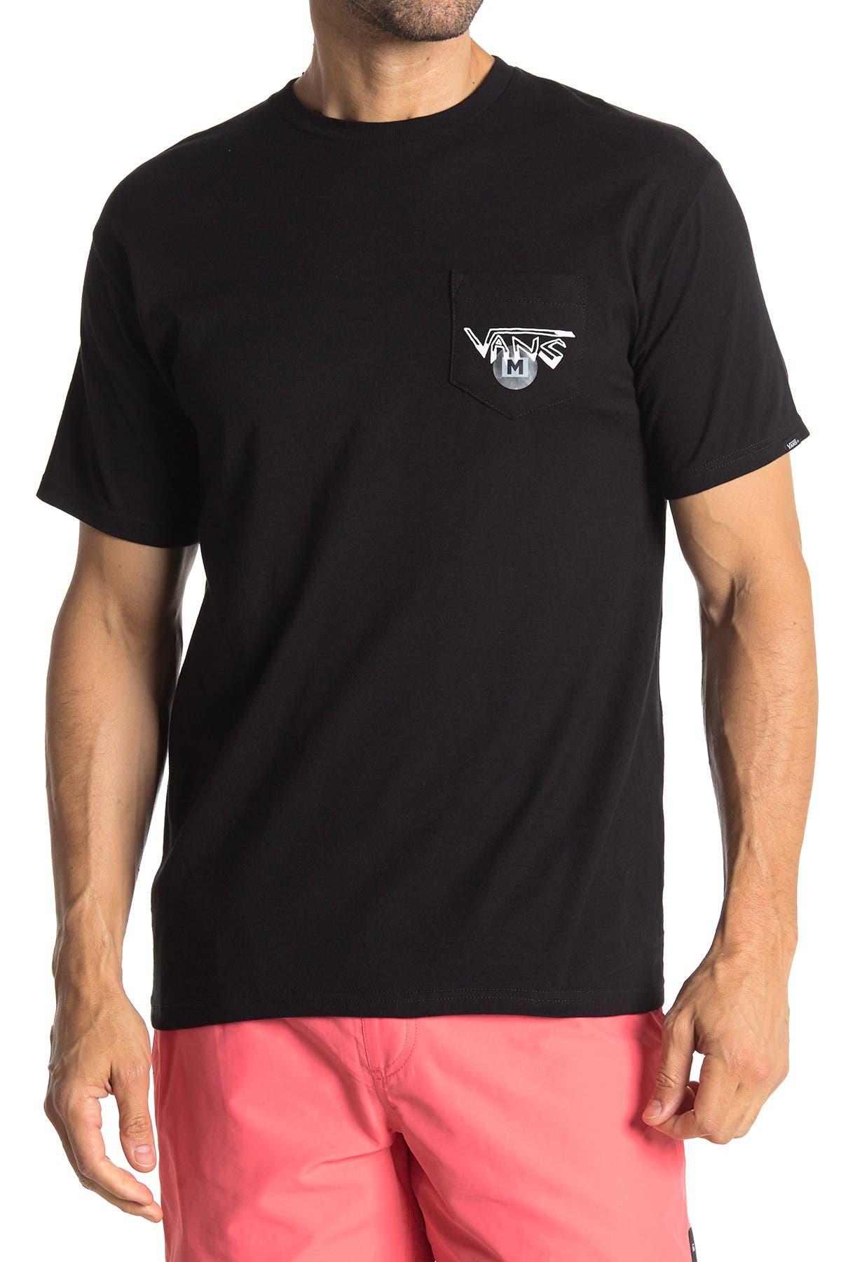 Image of VANS Rowan Zorilla Skull Short Sleeve T-Shirt