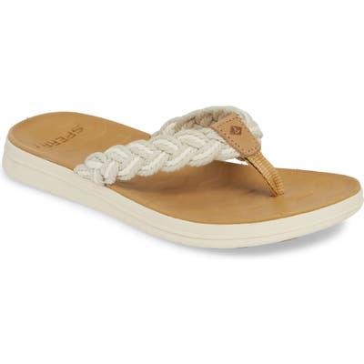Sperry Adriatic Braided Flip Flop
