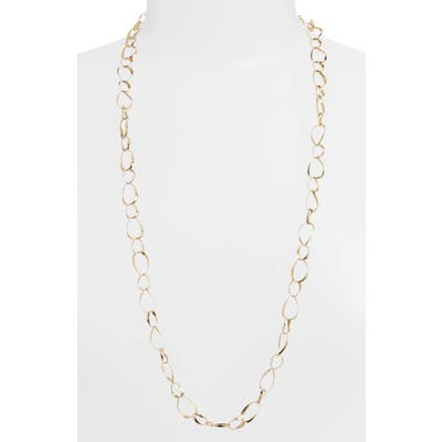Bony Levy Long 14K Gold Oval Link Necklace (Nordstrom Exclusive)