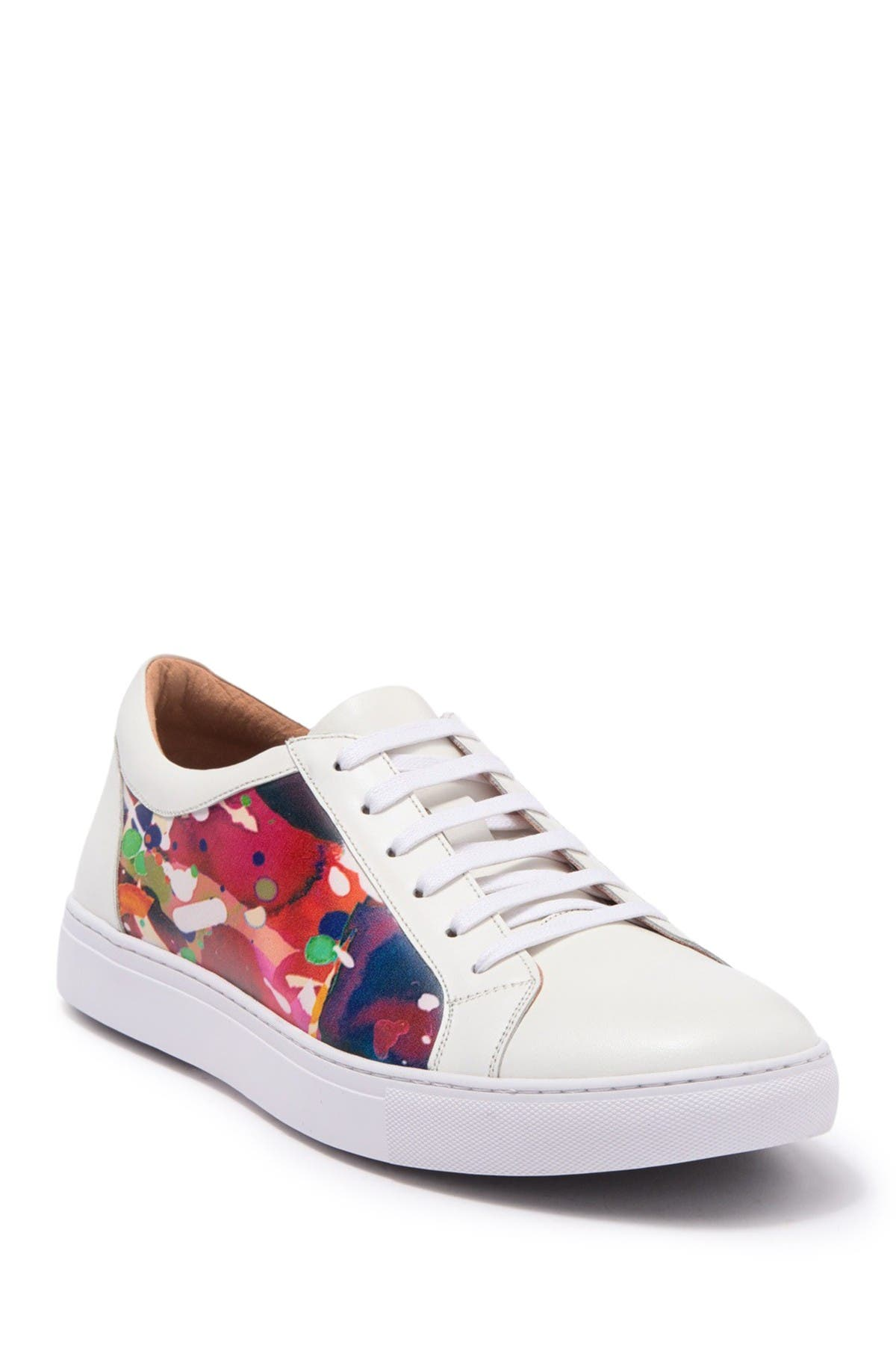 Image of Robert Graham Ignition Leather Sneaker