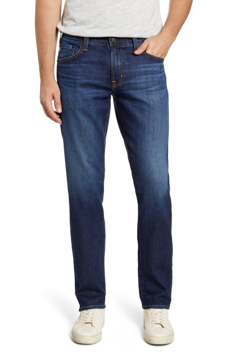 AG Graduate Slim Straight Leg Jeans, Main, color, 3 YEARS SONATA
