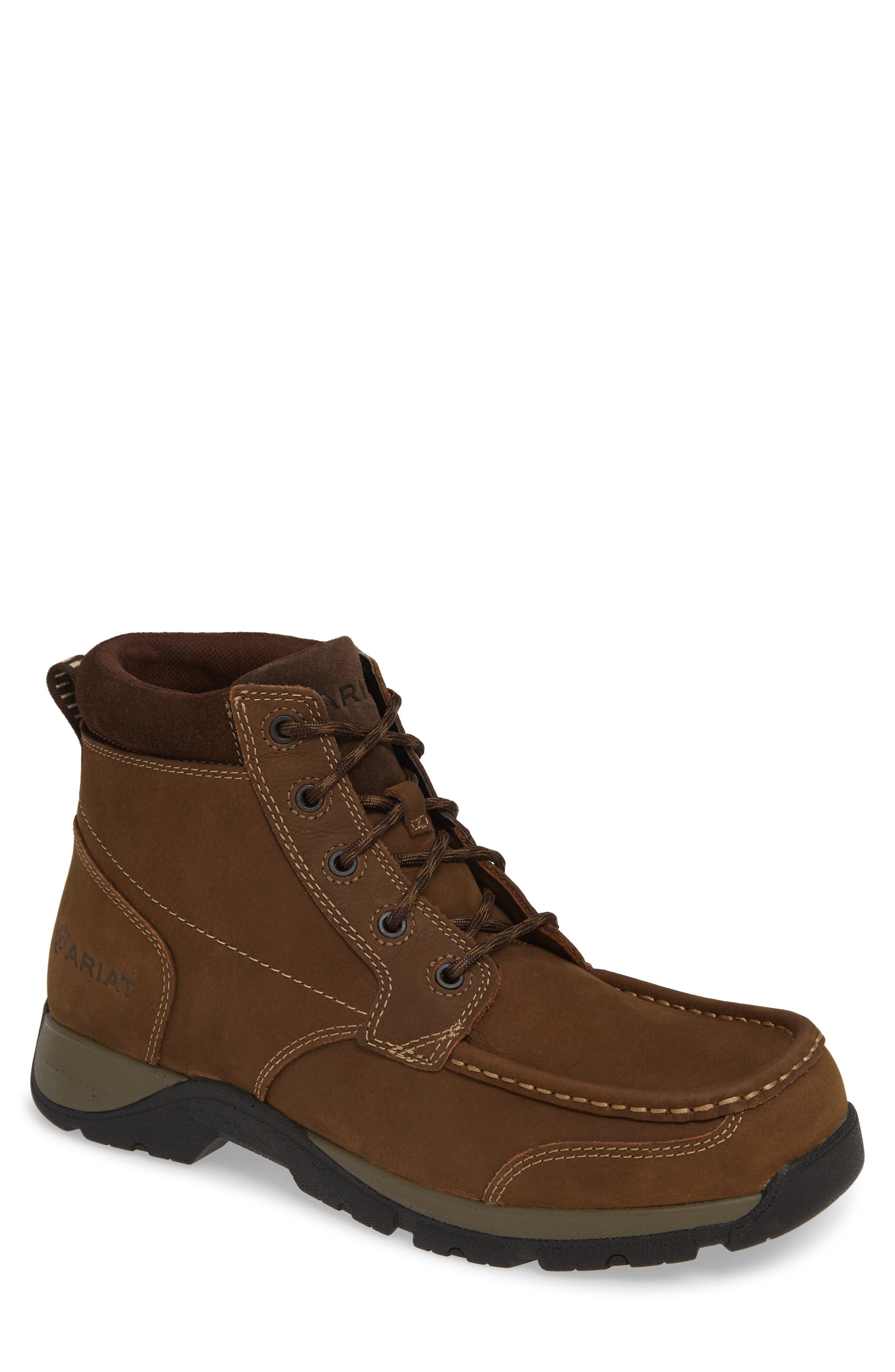 Ariat Edge Moc Toe Boot W - Brown
