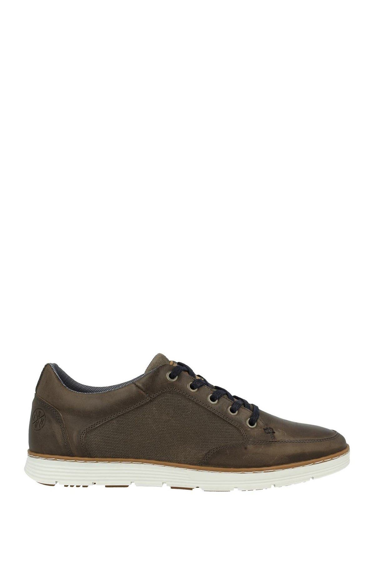 Image of Bullboxer Leather Derby Sneaker