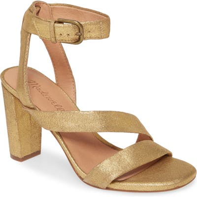 Madewell The Liv Sandal, Metallic