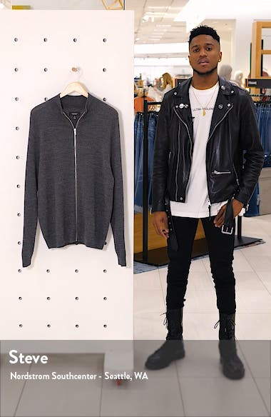 Mock Neck Zip Sweater, sales video thumbnail