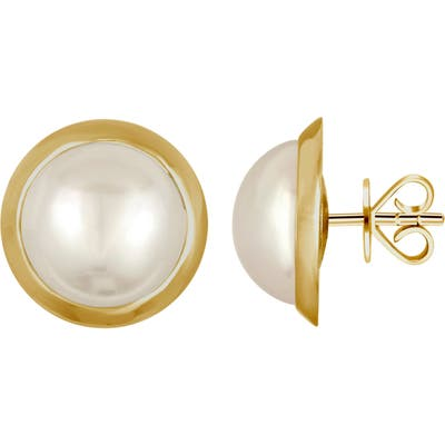 Majorica Mabe Simulated Pearl Stud Earrings