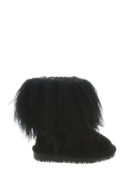 Image of BEARPAW Boo Shaggy Genuine Lamb Hair Bootie