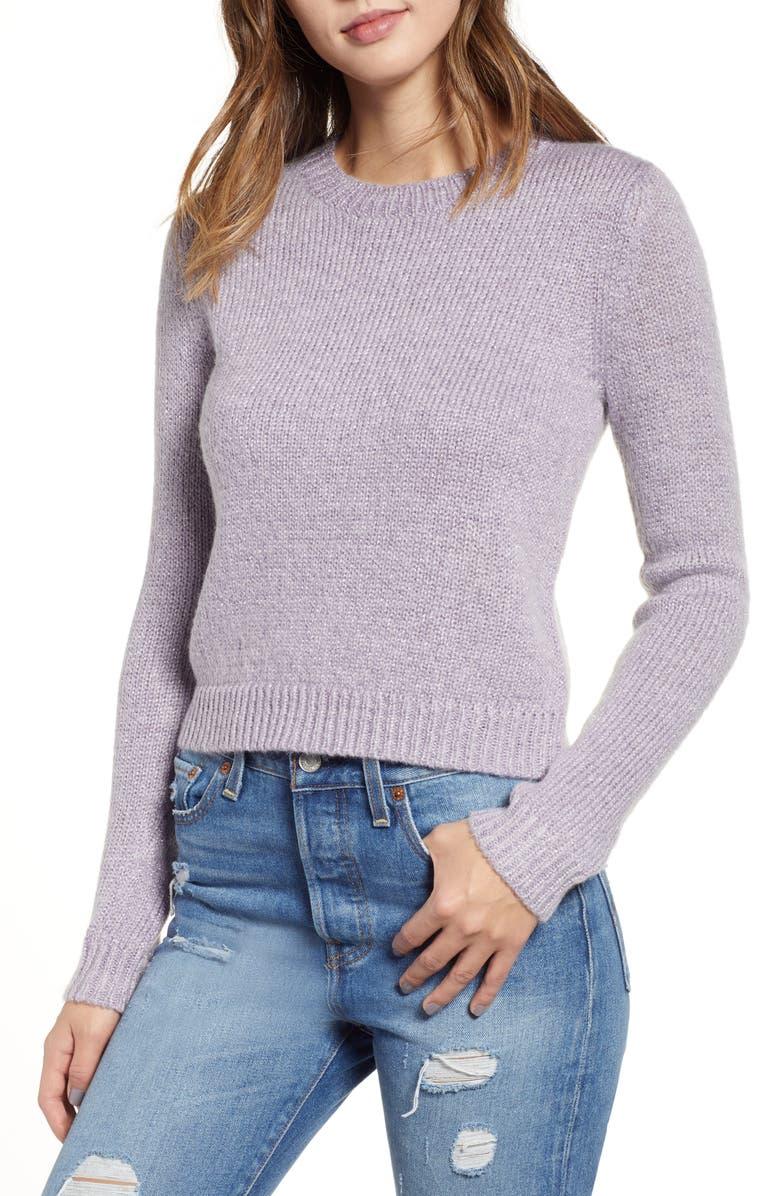 LEITH Metallic Pullover, Main, color, 530