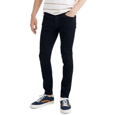Madewell Skinny Jeans In Hastings Wash, Blue