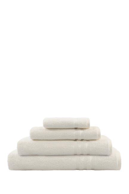 Image of LINUM HOME Denzi 4-Piece Towel Set - Cream