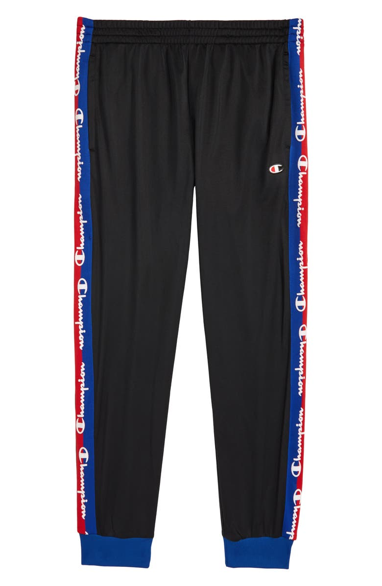 CHAMPION Track Pants, Main, color, BLACK