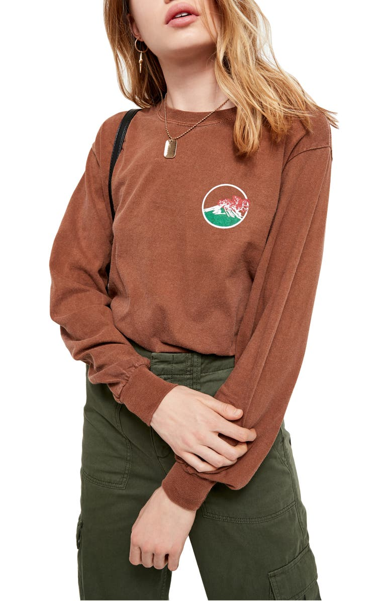 BDG URBAN OUTFITTERS New Horizons Skate Top, Main, color, 200