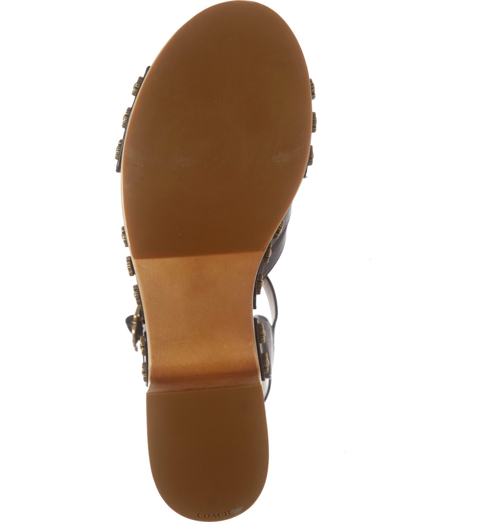 04806e940aa41 COACH Nessa Clog Platform Sandal (Women)   Nordstrom